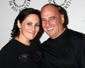 LOS ANGELES - SEP 13:  Ricki Lake, Dad Barry Lake at the PaleyFest Fall Flashback -