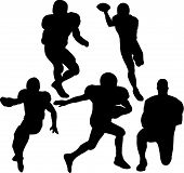 Football Players. poster