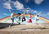foto of break-dance  - summer - JPG
