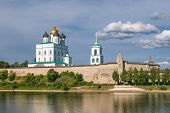 stock photo of trinity  - Pskov Kremlin  - JPG