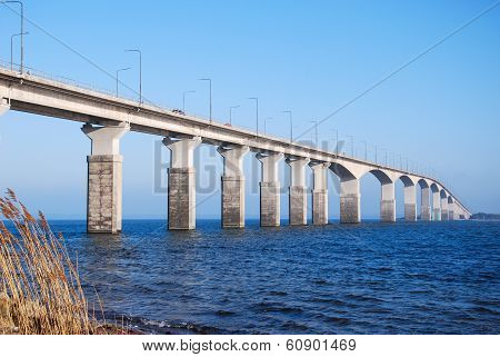 Sunlit Oland Bridge