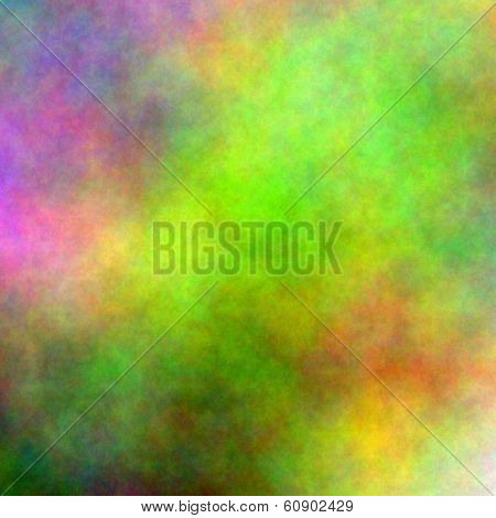 Multi hued Vivid Background