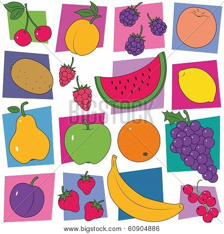 fruit collection pattern