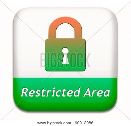 restricted area membership required password protected members only access key icon