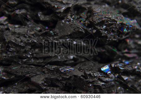 Syntetic Corundum Mineral Texture