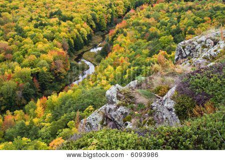 Autumn Color In Michigan Upper Peninsula