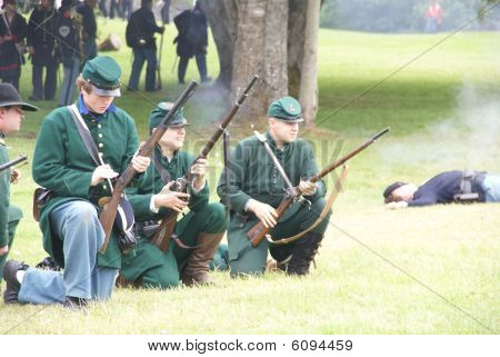 Green Jacketed Union Sharpshooters