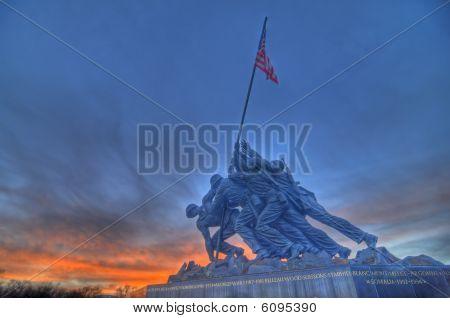Iwo Jima Memorial HDR