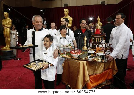 LOS ANGELES - MAR 2:: Wolfgang Puck  at the 86th Annual Academy Awards at Hollywood & Highland Center on March 2, 2014 in Los Angeles, California