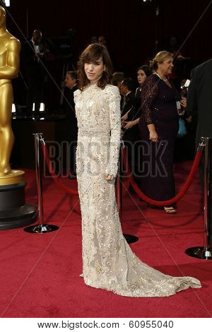 LOS ANGELES - MAR 2:: Sally Hawkins  at the 86th Annual Academy Awards at Hollywood & Highland Center on March 2, 2014 in Los Angeles, California
