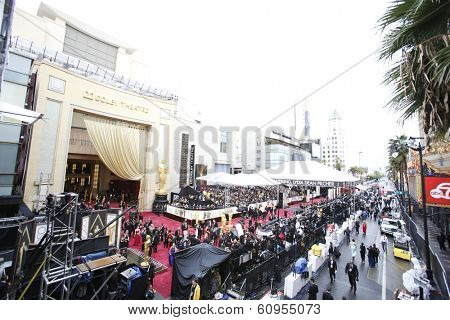 LOS ANGELES - MAR 2:: Atmosphere  at the 86th Annual Academy Awards at Hollywood & Highland Center on March 2, 2014 in Los Angeles, California