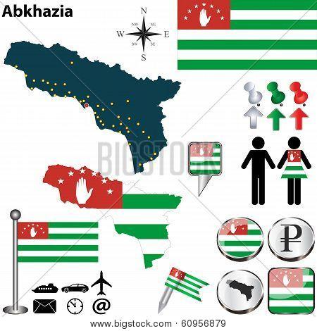 Map Of Abkhazia