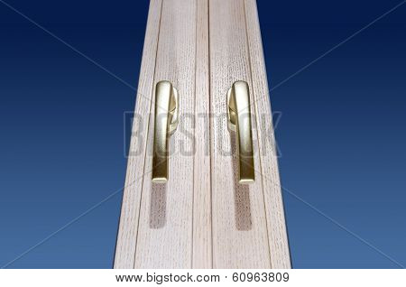 Gold Window Handles