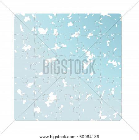 Blue Puzzle Fields