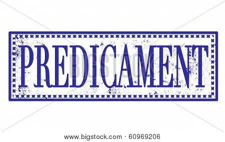 Predicament Stamp