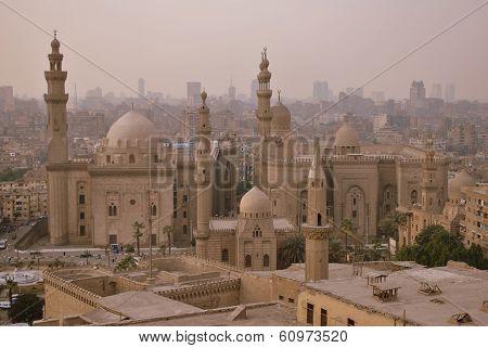 Sultan Hassan Mosque in Cairo
