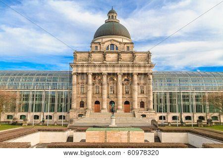Munich, Bayerische Staatskanzlei, Bavarian State Chancellery, Germany