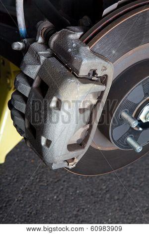 Front Brake Assembly