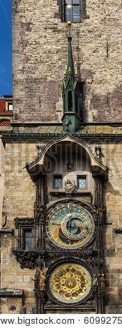 Medieval astronomical clock