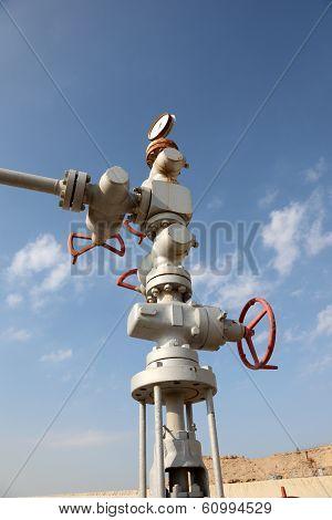 Old Oil Pipe In Bahrain
