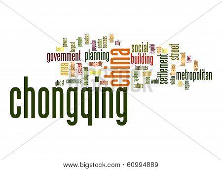 Chongqing Word Cloud