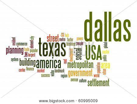 Dallas Word Cloud