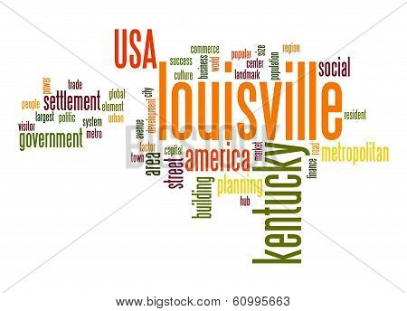 Louisville Word Cloud