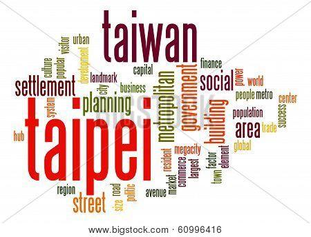 Taipei  Word Cloud