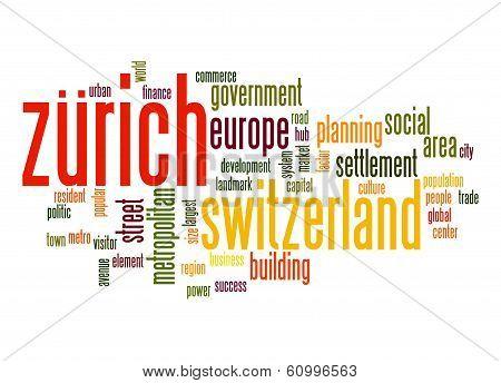 Zurich Word Cloud