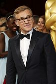 LOS ANGELES - MAR 2:: Christoph Waltz  at the 86th Annual Academy Awards at Hollywood & Highland Cen