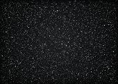 stock photo of glitz  - Glittering black background - JPG