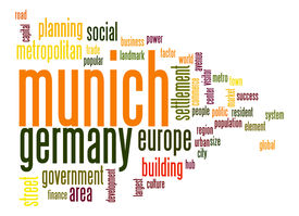 pic of munich residence  - Munich word cloud image with hi - JPG
