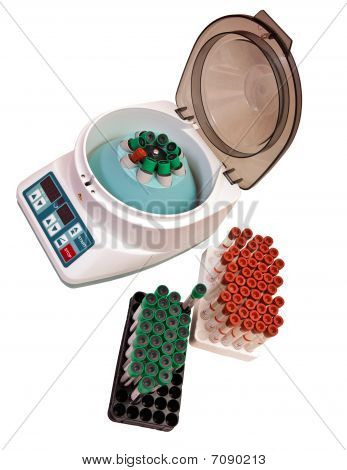 Modern Electronic Blood Centrifuge