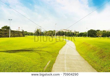 Rizal Park Also Luneta Park Or Colloquially Luneta, Manila