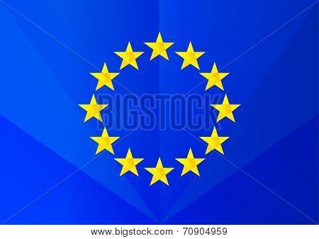 flag euro facet