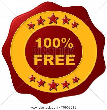 100% Free Wax Seal