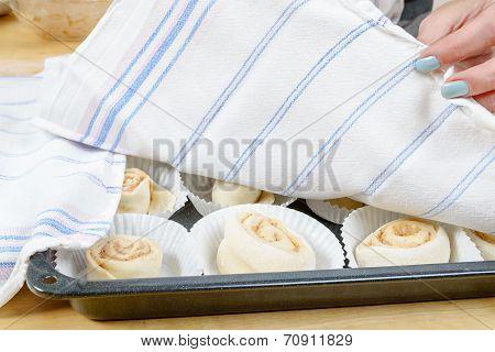 Buns Under Towel