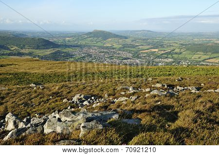 Abergavenny From Blorenge