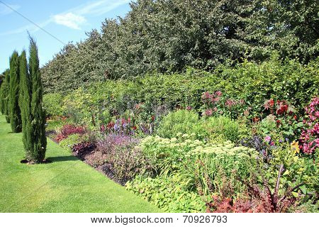 flower bed border