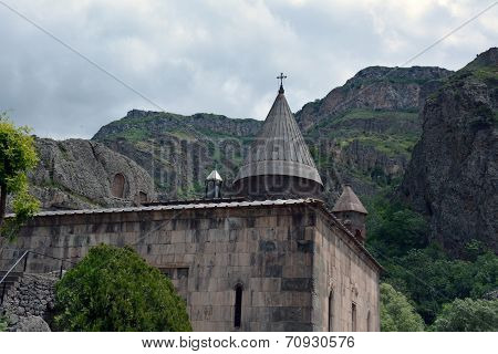 The Church Of The Geghard Monastery