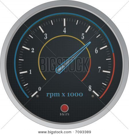Gauge  Tachometer