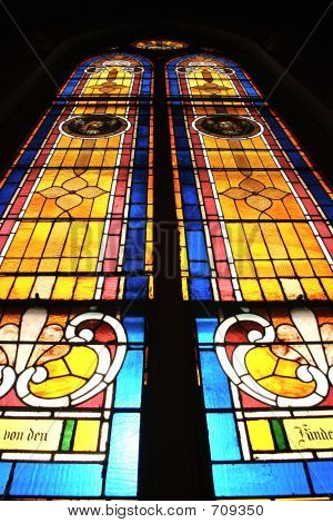 Stained Glass Testimony