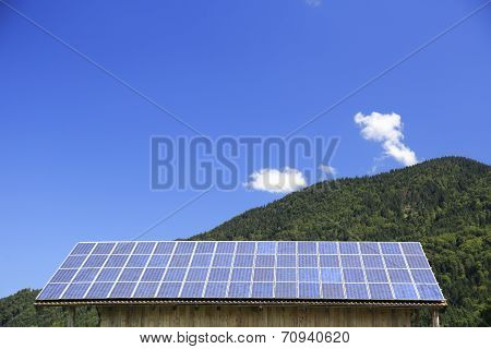Solar Modules On Roof