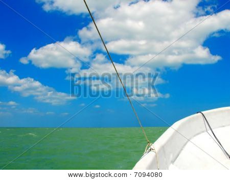 Blue Sky Green Sea