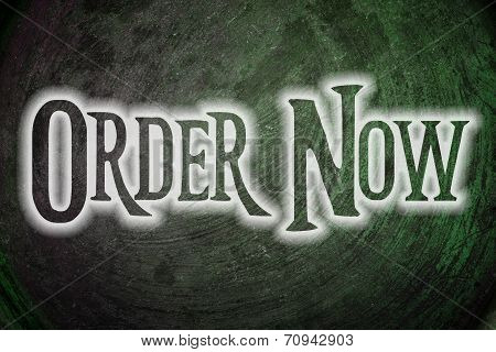 Order Now Concept