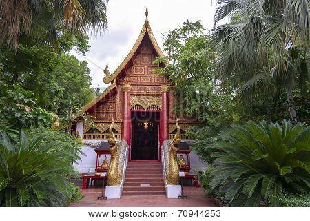 Ubosoth At Wat Phra Kaew, Chiang Rai