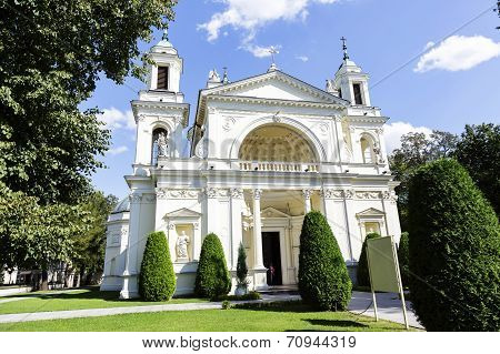 Church Of St. Anne In Wilanow, Warsaw, Poland