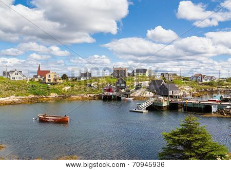 Buildings In Peggy's Cove