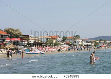 Laganas Beach On Zakynthos