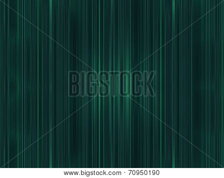 Abstract Green Lines Pattern